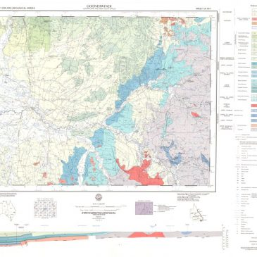 Australia 1:250,000 geological map series
