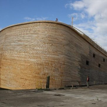Noah's Ark replica evokes global interest
