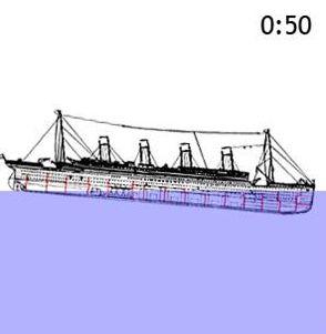 The Titanic illustrates Noah's Flood