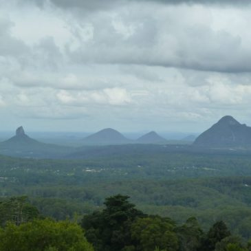 Spectacular Glass House Mountains, Australia