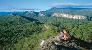 Carnarvon Gorge from Clematis Ridge looking south. Image courtesy Tourism Queensland. pleasetakemeto.com/australia/carnarvon-gorge/photos/carnarvon-gorge-38916