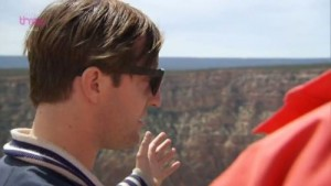 Andrew Maxwell at Grand Canyon telling Phil Robinson he sees millions of years, when he only sees the huge canyon