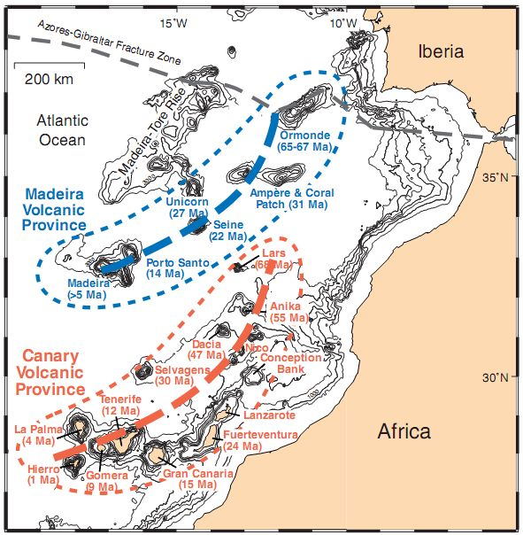 The Canary Islands formed late in Noahs Flood and afterwards