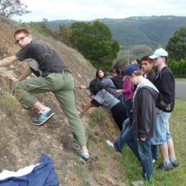 Blue Mountains geology field trip