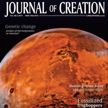 A brand new issue of Journal of Creation with lots of geology articles